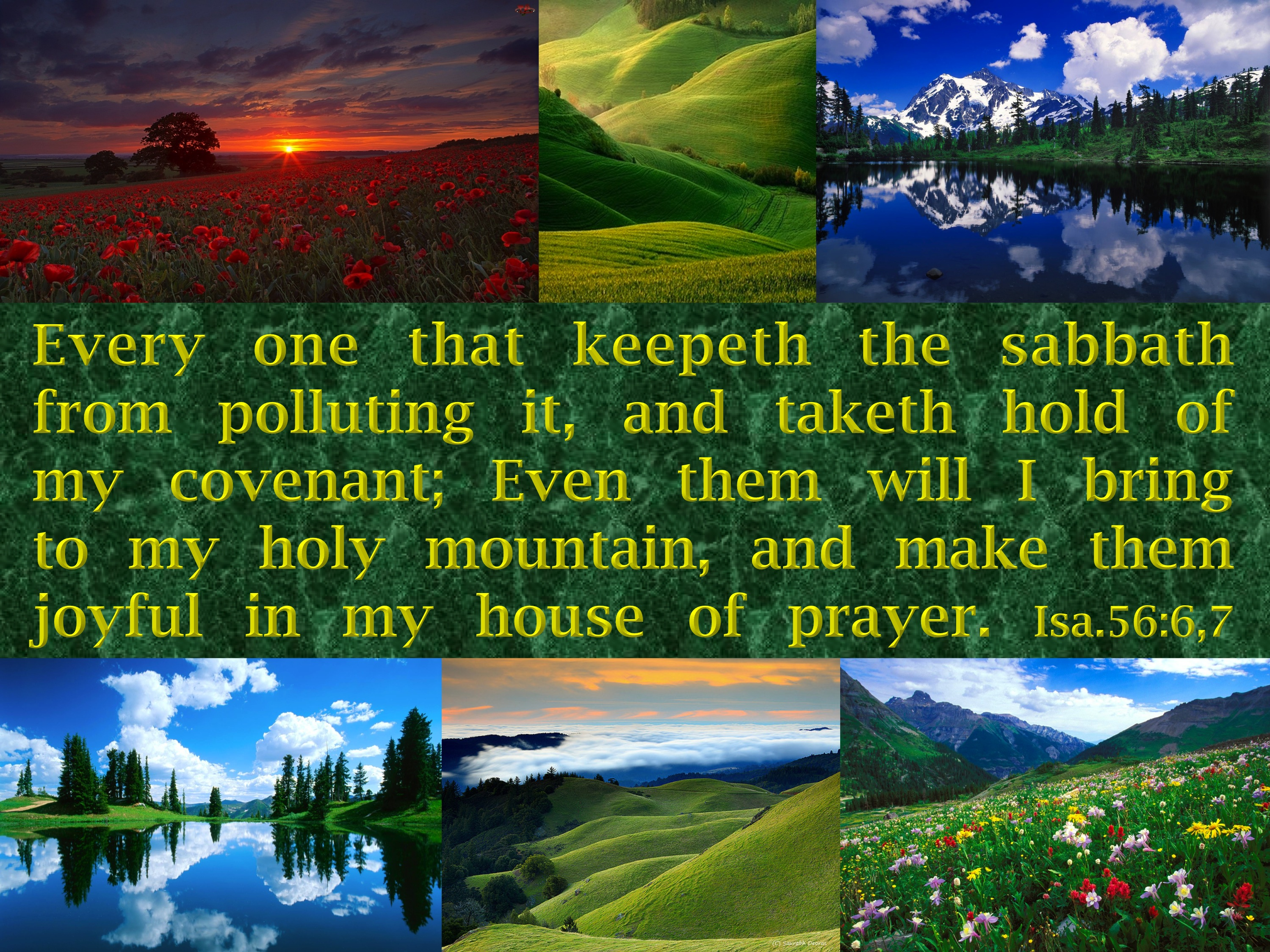 The Meaning of the Word, Sabbath