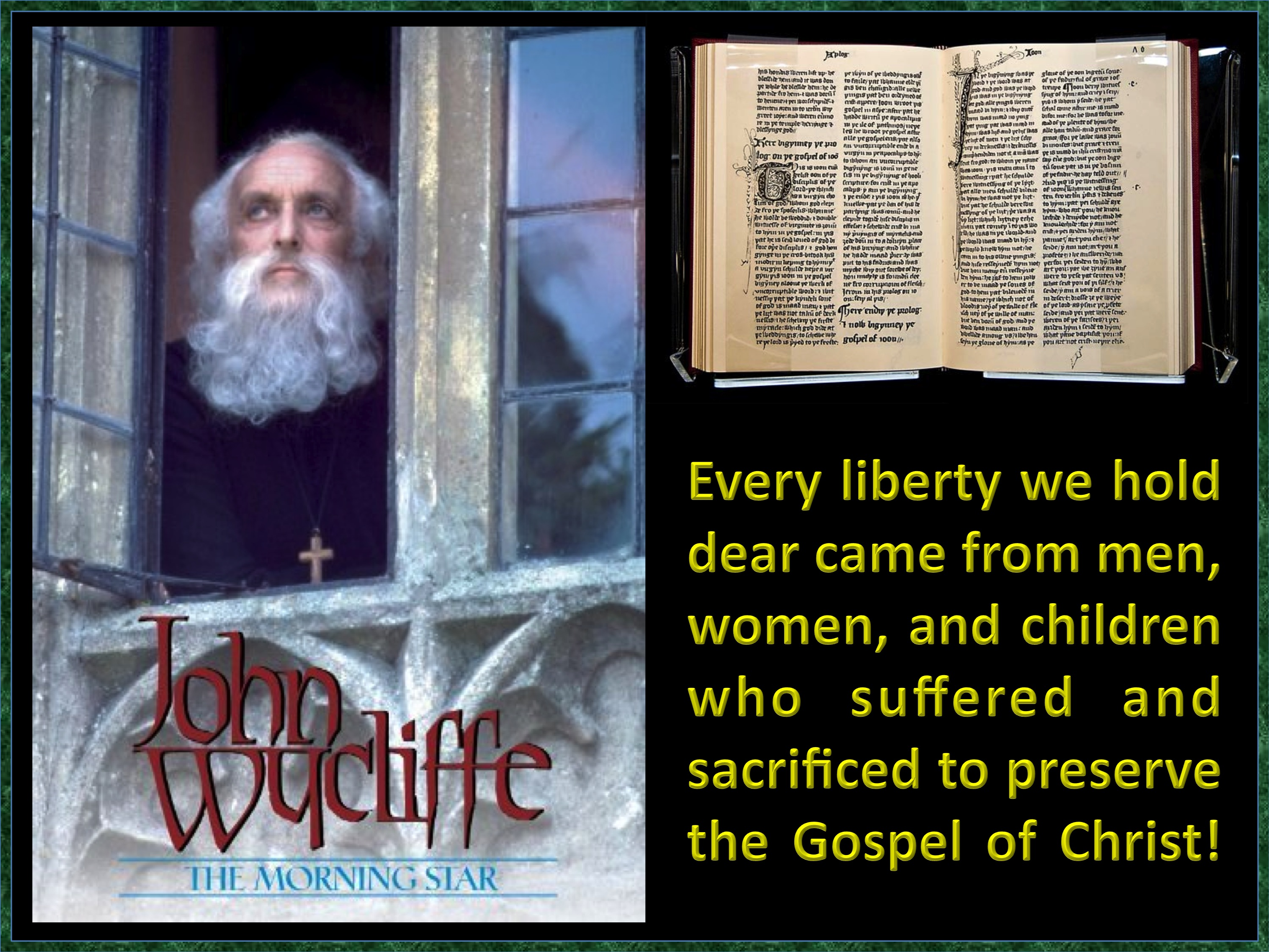 biography of wycliffe